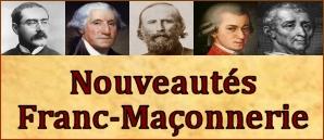 Nouveautés Franc-Maçonnerie